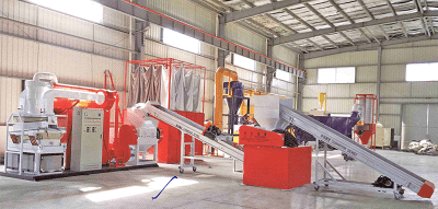 LD-800A Scrap Wire Recycling Plant