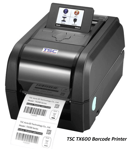 TX 600 Industrial Barcode Label Printer