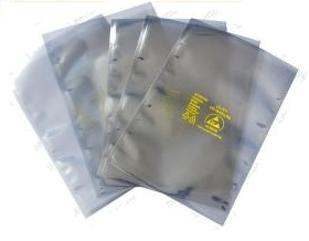 4 layer ESD safe bags including shielding bags, anti static bags, moisture barrier & conductive packaging in India.