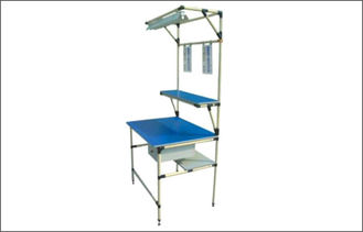 Industrial ABS Coated Pipe Workbench , Small ESD Mat Workstation