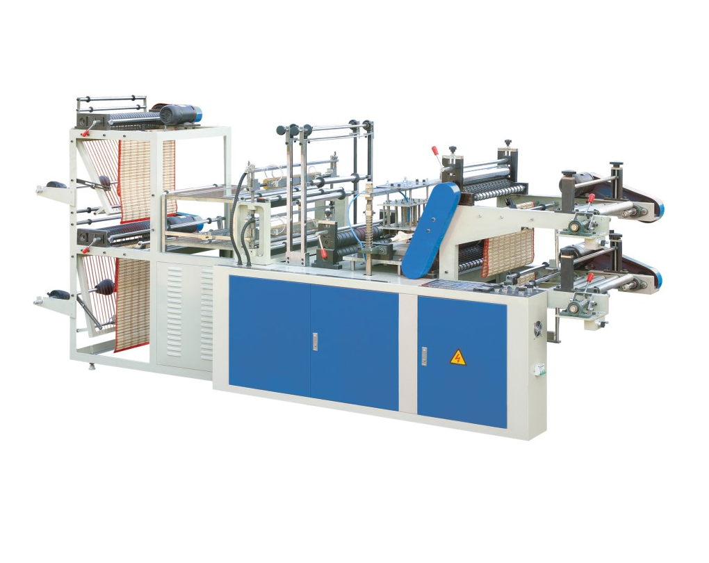 Double Lines Bag In Roll Making Machine