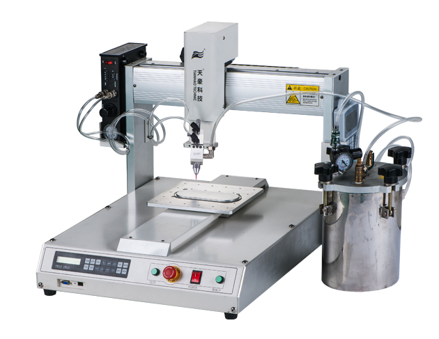 300KJ Automatic Robotic filling and Coating Equipment offers reliable operation with excellent repetitiveness for precise application of adhesives.