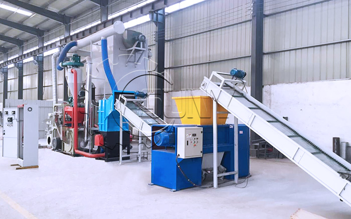 Waste PCB Recycling Plant