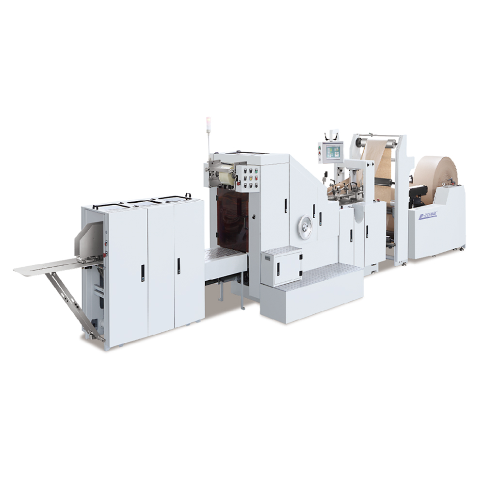 LD 190 Fully Automatic Square Bottom Paper Bag Making Machine