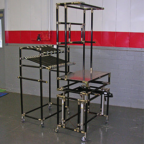 ESD safe anti static Cart and Assembly Station